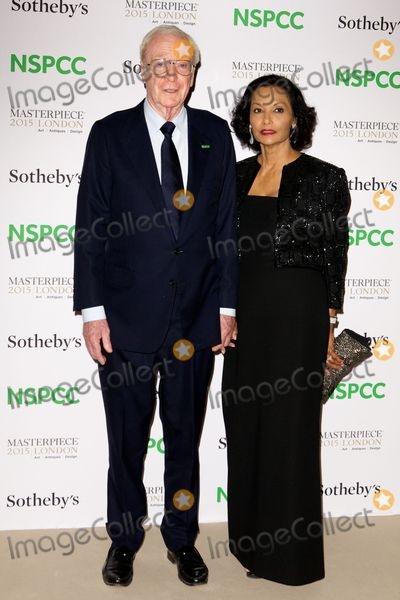 Michael Caine Photo - June 30 2015 LondonSir Michael Caine and Shakira Caine arriving at the Neo-Romantic Art Gala in aid of the NSPCC at the Royal London Hospital in Chelsea on June 30 2015 in LondonBy Line FamousACE PicturesACE Pictures Inctel 646 769 0430