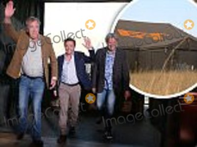 Jeremy Clarkson Photo - Amazon Prime undated handout photo of Jeremy Clarkson Richard Hammond and James May in Johannesburg during the first ever studio tent recording of the brand new series The Grand Tour which will launch exclusively for Amazon Prime customers this Autumn  PRESS ASSOCIATION Photo Issue date Sunday July 17 2016 Photo credit should read Amazon PrimePA WireNOTE TO EDITORS This handout photo may only be used in for editorial reporting purposes for the contemporaneous illustration of events things or the people in the image or facts mentioned in the caption Reuse of the picture may require further permission from the copyright holder