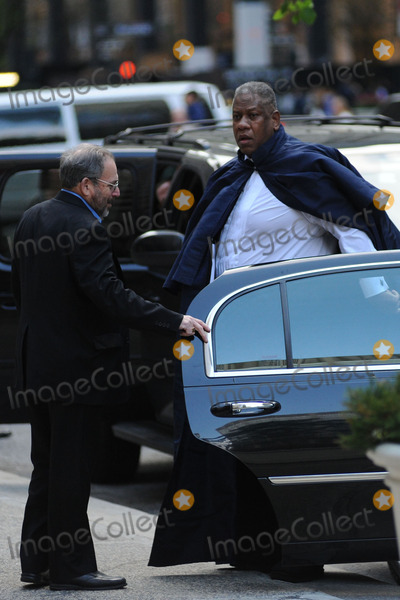 Andr Leon Talley Photo - May 2 2014 New York CityAndr Leon Talley attending a memorial service for L Wren Scott at St Bartholomews Church in New York City on May 2 2014