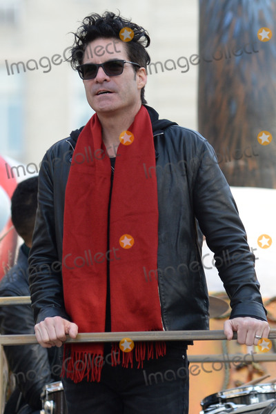 Patrick Monahan Photo - November 26 2015 New York CityPatrick Monahan of Train attending the 89th Annual Macys Thanksgiving Day Parade on November 26 2015 in New York CityCredit Kristin CallahanACE PicturesTel (646) 769 0430