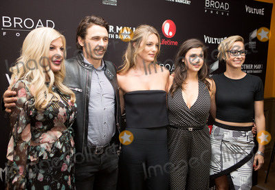 Amber Coney Photo - June 7 2016 New York CityTori Spelling James Franco Leila George Amber Coney and Melanie Aitkenhead arriving at the New York screening of  Mother May I Sleep With Danger at the Crosby Street Theater on June 7 2016 in New York CityBy Line Serena XuACE PicturesACE Pictures Inctel 646 769 0430