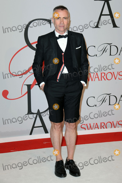 THOM BROWN Photo - June 1 2015 New York CityThom Browne attending the 2015 CFDA Fashion Awards at Alice Tully Hall at Lincoln Center on June 1 2015 in New York CityPlease byline Kristin CallahanACETel (646) 769 0430