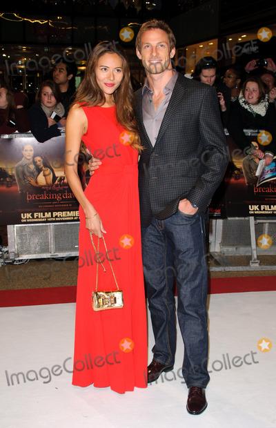 Jessica Michibata Photo - Jessica Michibata and Jenson Button at the premiere of The Twilight Saga Breaking Dawn - Part 1 at the Westfield Stratford on November 16 2011 in London