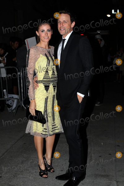 Alexi Ashe Photo - October 25 2012 New York City Alexi Ashe and Seth Myers arriving at the 29th annual Fashion Group International Night of Stars at Cipriani Wall Street on October 25 2012 in New York City