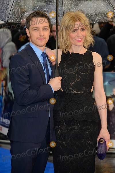 Anne Marie Duff Photo - May 12 2014 LondonAnne-Marie Duff and James McAvoy attending  the UK premiere for X-Men Days of Future Past at the Odeon Leicester Square on May 12 2014 in London
