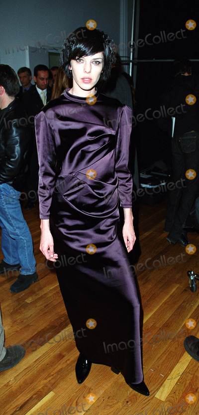 Carmen Kreuzer Photo - Model CARMEN KREUZER backstage at the ATIL KUTOGLU Fashion Show during the New York Fashion Week Puck Building New York February 12 2002  2002 by Alecsey BoldeskulNY Photo Press     ONE-TIME REPRODUCTION RIGHTS          NY Photo Press    phone (646) 267-6913     e-mail infocopyrightnyphotopresscom