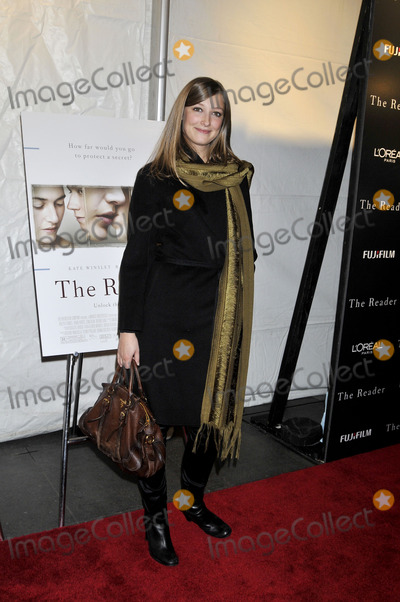 Alexandra Maria Lara Photo - Actress Alexandra Maria Lara attends The Reader premiere held at the Ziegfeld Theatre December 3 2008 in New York City