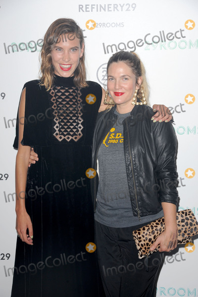 Alexa Chung Photo - September 10 2015 New York CityAlexa Chung and Drew Barrymore attending the Refinery29 presentation of 29Rooms a celebration of style and culture during NYFW 2015 on September 10 2015 in Brooklyn New YorkCredit Kristin CallahanACE Tel (646) 769 0430
