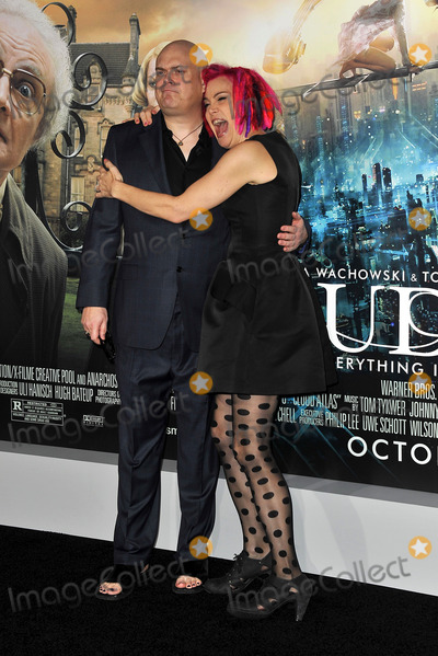 Andy Wachowski Photo - October 24 2012 Los Angeles CAAndy Wachowski and Lana Wachowski arriving at the premiere of Cloud Atlas at Graumans Chinese Theatre on October 24 2012 in Hollywood California
