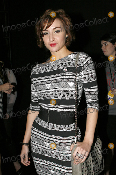Allison Scagliotti Photo - Actress Allison Scagliotti attends New York Fashion Week at Lincoln Center on September 12 2010 in New York City