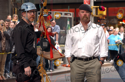 Adam Savage Photo - NEW YORK NEW YORK MAY 23RD 2005    MythBusters Adam Savage and Jamie Hyneman at a performance for the Late Show with David Letterman