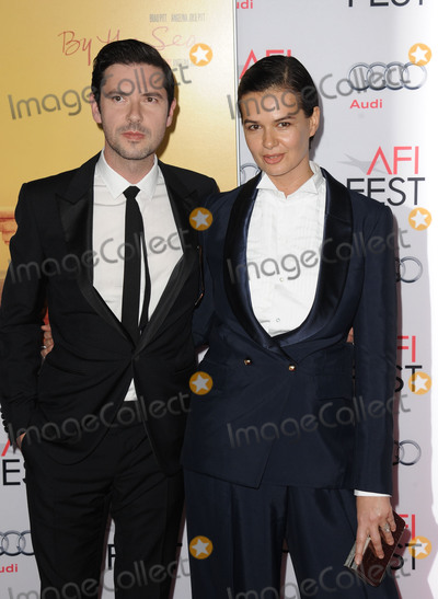 Melvil Poupaud Photo - November 5 2015 New York CityMelvil Poupaud (L)  arriving at the AFI FEST 2015 Opening Night Gala Premiere Of Universal Pictures By The Sea at the TCL Chinese 6 Theatre on November 5 2015 in Hollywood CaliforniaBy Line Peter WestACE PicturesACE Pictures Inctel 646 769 0430