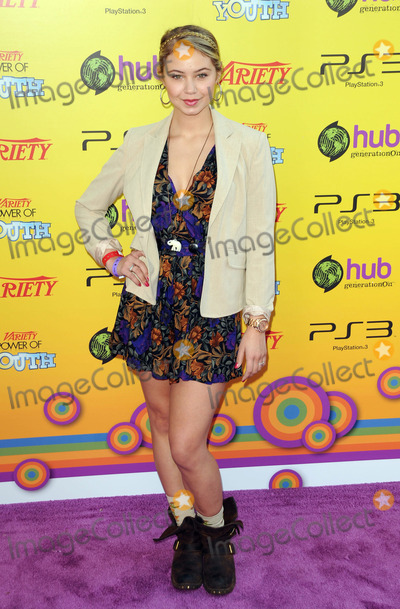 Ayla Kell Photo - Ayla Kell arriving at Varietys 5th Annual Power of Youth event at Paramount Studios on October 22 2011 in Hollywood California