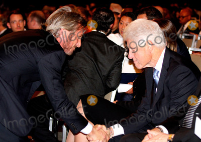 THE CLINTONS Photo - September 27 2015 New York CitySean Pean and Bill Clinton attending the Clinton Global Citizen Awards during the second day of the 2015 Clinton Global Initiatives Annual Meeting at the Sheraton New York Hotel on September 27 2015 in New York CityBy Line Nancy RiveraACE PicturesACE Pictures Inctel 646 769 0430