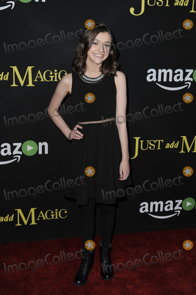 Ashley Boettcher Photo - January 14 2016 LAAshley Boettcher arriving at the premiere of Amazons Just Add Magic at the ArcLight Hollywood on January 14 2016 in Hollywood California By Line Peter WestACE PicturesACE Pictures Inctel 646 769 0430