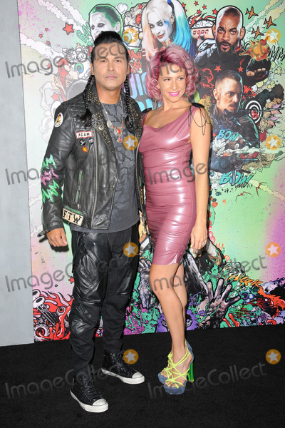 Adam Beach Photo - August 1 2016  New York CityAdam Beach and Summer Tiger attending the world premiere of Warner Bros Pictures and Atlas Entertainments Suicide Squad at the Beacon Theatre on August 1 2016 in New York CityCredit Kristin CallahanACE PicturesTel 646 769 0430