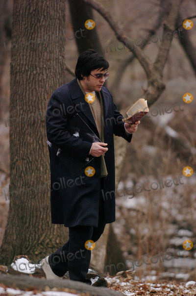Jared Leto Photo - Jared Leto and Tara Subkoff were in Central Park filming Chapter 27 The movie follows the days leading up to the murder of John Lennon by Mark David Chapman (played by Leto) Lindsay Lohan will also be in the movie Leto is clutching a John Lennon album and a copy of Catcher in the Rye
