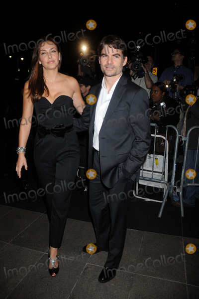 NASCAR DRIVERS Photo - Nascar Driver Jeff Gordon (right) and Ingrid Vandebosch attend the Valkyrie premiere held at Rose Hall Time Warner Center on December 15 2008 in New York City