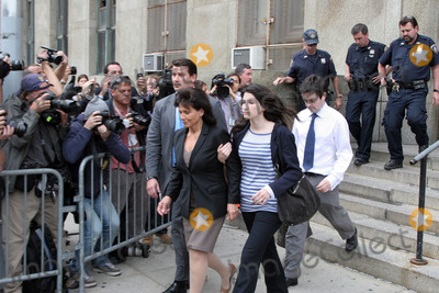 Anne Sinclair Photo - Anne Sinclair (wife) and Camille Strauss-Kahn daughter) leave a Manhattan court after terms had been agreed for bail for Dominique Strauss-Kahn who has been held on sex charges
