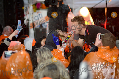 Coldplay Photo - March 14 2016 New York CityColdplay performing in concert on NBC TODAY at Rockefeller Plaza on March 14 2016 in New York CityCredit Kristin CallahanACETel (646) 769 0430