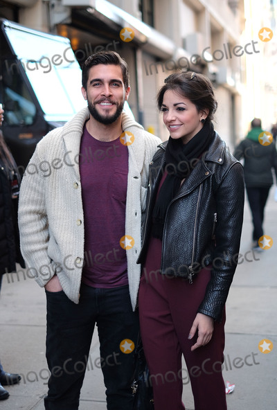 Ana Villafane Photo - January 28 2016 New York CityBroadway actors Ana Villafane (R) and Josh Segarra made an appearance at HuffPost Live on January 28 2016 in New York CityBy Line Curtis MeansACE PicturesACE Pictures Inctel 646 769 0430