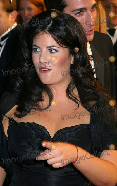 Monica Lewinsky Photo - Monica Lewinsky and a companion arriving at GQ Men of the Year Awards in New York October 16 2002