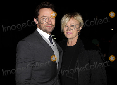 The Donnas Photo - February 10 2014 New York CityHugh Jackman and Deborra-Lee Furness arriving at the Donna Karan New York 30th Anniversary fashion show during Mercedes-Benz Fashion Week Fall 2014 on February 10 2014 in New York City