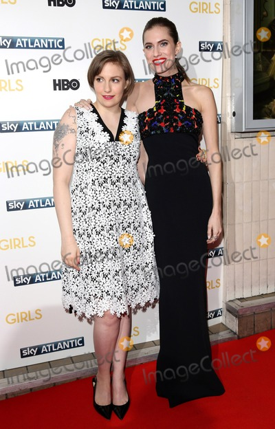 Lena Dunham Photo - Janaury 15 2014 LondonLena Dunham and Allison Williams at the UK premiere of Girls the third series held at the Cineworld Haymarket on Janaury 15 2014 in London