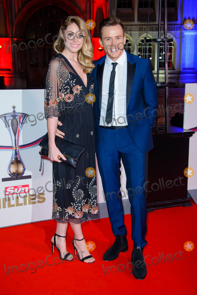 Georgia Horsley Photo - December 14 2016 LondonGeorgia Horsley and Danny Jones arriving at The Sun Military Awards at The Guildhall on December 14 2016 in LondonBy Line FamousACE PicturesACE Pictures IncTel 6467670430