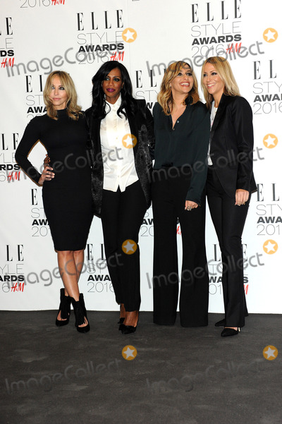 All Saints Photo - February 23 2016 London (L-R) Natalie Appleton Shaznay Lewis Melanie Blatt Nicole Appleton of All Saints arriving at The Elle Style Awards 2016 on February 23 2016 in London England By Line FamousACE PicturesACE Pictures Inctel 646 769 0430