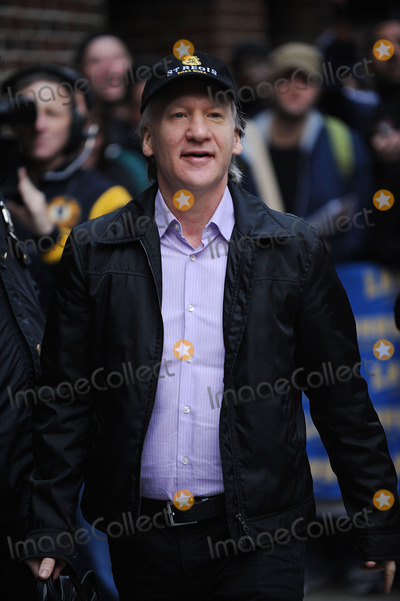 Bill Maher Photo - Television personality Bill Maher of the New York Yankees made an appearance at the Late Show With David Letterman at the Ed Sullivan Theater on November 5 2009 in New York City