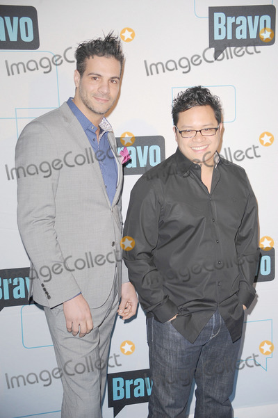 ANGELO SOSA Photo - Angelo Sosa and Dale Talde attend the 2011 Bravo Upfront at 82 Mercer  on  March 30 2011 in New York City