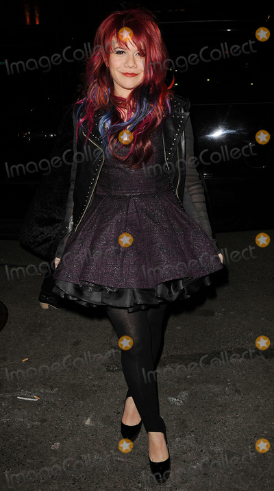 ALISON IRAHETA Photo - Singer Alison Iraheta arriving at the launch of VEVO a new music and video website at Skylight Studio on December 8 2009 in New York City