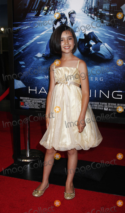 Ashlyn Sanchez Photo - Actor Ashlyn Sanchez arriving at the premiere of The Happening on June 10 2008 at the Ziegfeld Theatre in New York City