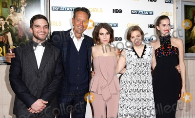 Lena Dunham Photo - Janaury 15 2014 LondonRichard E Grant Zosia Mamet Lena Dunham and Allison Williams at the UK premiere of Girls the third series held at the Cineworld Haymarket on Janaury 15 2014 in London