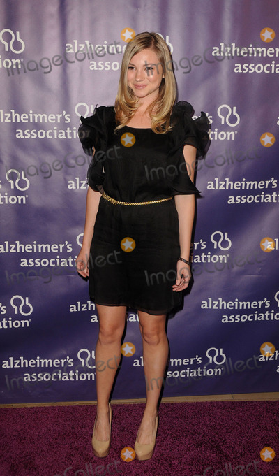Allie Gonino Photo - March 21 2012 LAAllie Gonino arriving at the 20th Anniversary Alzheimers Association A Night At Sardisat The Beverly Hilton Hotel on March 21 2012 in Beverly Hills California