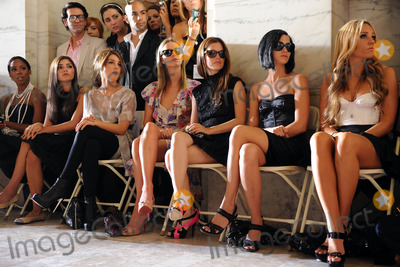 Amanda Bynes Photo - Kim Kardashian Kelly Rowland Amanda Setton Shenae Grimes Nicky Hilton Rachel Bilson and Amanda Bynes at the Jill Stuart Spring 2010 fashion show at Mercedes-Benz Fashion Week at Astor Hall on September 14 2009 in New York City