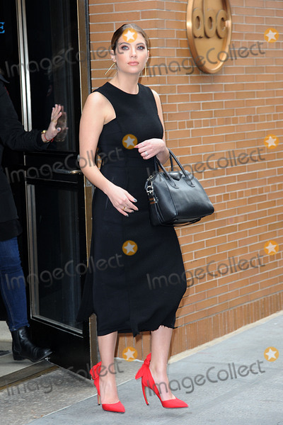 Ashley Benson Photo - January 12 2016 New York CityPretty Little Liars cast member Ashley Benson made an appearance at The View on January 12 2016 in New York CityCredit Kristin CallahanACE PicturesTel (646) 769 0430