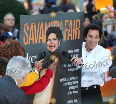 Matt Lauer Photo - October 31 2016 New York CitySavannah Guthrie as Demi Moore and Matt Lauer as Jerry Seinfeld appearing on NBCs Today show Halloween event at the Rockefeller Plaza on October 31 2016 in New York CityBy Line Serena XuACE PicturesACE Pictures IncTel 6467670430