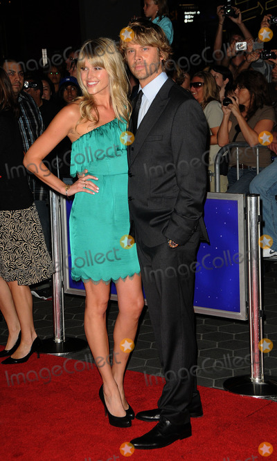 Sarah Wright Photo - Actor Eric Christian Olsen (R) and Sarah Wright arriving at the premiere of The Thing at AMC Universal City Walk on October 10 2011 in Universal City California