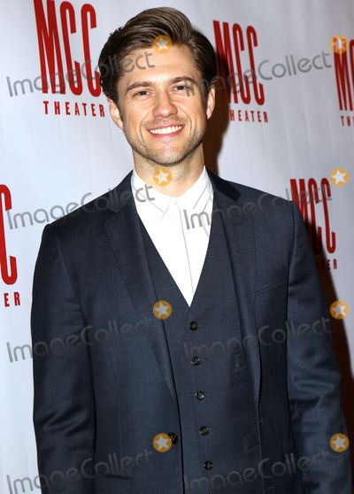 Aaron Tveit Photo - April 4 2016 New York CityActor Aaron Tveit arriving at the MCC Theaters Annual Miscast Gala at the Hammerstein Ballroom on April 4 2016 in New York CityBy Line Nancy RiveraACE PicturesACE Pictures Inctel 646 769 0430