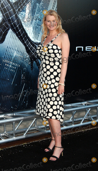 Anna Wilding Photo - Actressfilmmaker Anna Wilding arriving at the US Premiere of Spiderman 3 in Astoria Queens