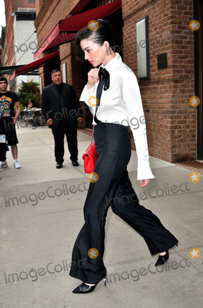 Annie Clark Photo - August 1 2016 New York CitySinger Annie Clark aka St Vincent leaves a downtown hotel on August 1 2016 in New York CityBy Line Curtis MeansACE PicturesACE Pictures IncTel 6467670430
