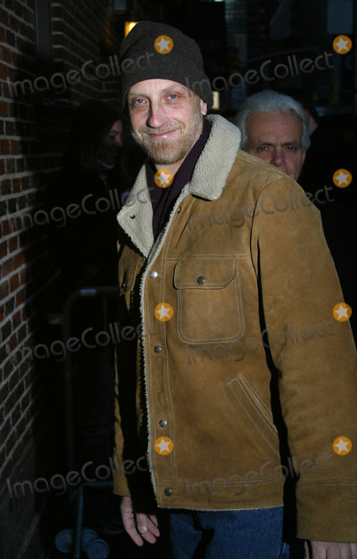 Chris Elliott Photo - Actor Chris Elliott arrives at Ed Sullivan Theater to make an appearance on The Late Show With David Letterman New York January 7 2003