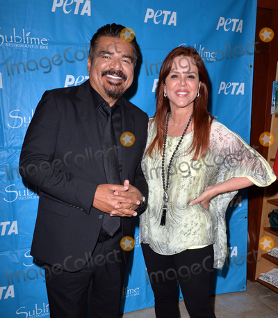 Maria Celeste Photo - December 11 2016 Ft LauderdaleGeorge Lopez and Maria Celeste Arraras appeared at a fundraising reception at South Floridas Sublime Restaurant  Bar on for PETA on December 11 2016 in Fort Lauderdale FloridaBy Line SolarACE PicturesACE Pictures IncTel 6467670430