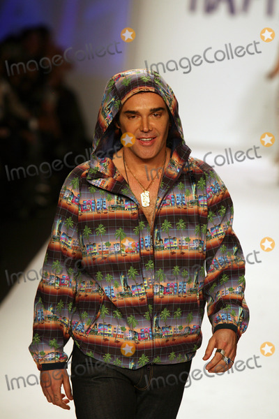 David LaChapelle Photo - David LaChapelle on the runway for Naomi Campbells Fashion For Relief Haiti NYC 2010  show during the fall 2010 Mercedes-Benz Fashion Week in New York February 12 2010