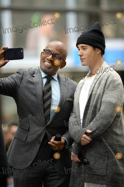 Al Roker Photo - November 18 2015 New York CityAl Roker and Justin Bieber performing in concert on NBC TODAY at Rockefeller Plaza on November 12 2015 in New York CityCredit Kristin CallahanACETel (646) 769 0430
