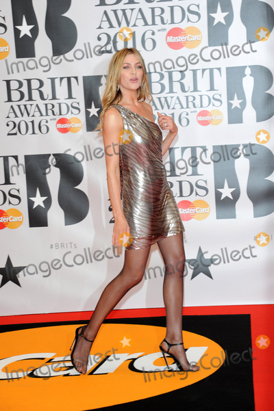 Abbi Clancey Photo - February 24 2016 LondonAbbie Clancey arriving at the BRIT Awards 2016 at The O2 Arena on February 24 2016 in London EnglandBy Line FamousACE PicturesACE Pictures Inctel 646 769 0430