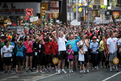 Allan Ennis Photo - May 5 2012 New York City Allan Ennis at the starting line of the 15th Annual EIF Revlon RunWalk For Women in Times Square on May 5 2012 in New York City on May 5 2012  in New York City