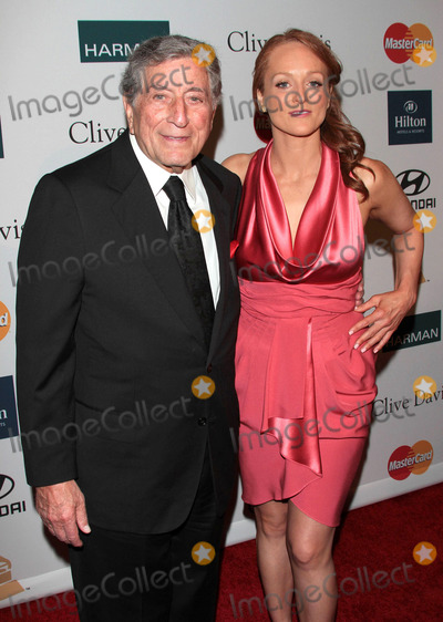Antonia Bennett Photo - February 11 2012 LATony Bennett and Antonia Bennett at the Clive Davis Pre-Grammy Party at the Beverly Hilton Hotel in on February 11 2012 in Los Angeles